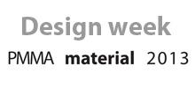 Design Week_PMMA material 2013